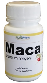 Maca extract (herbal supplement for better libido and mood)