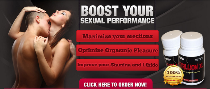Stallion XL - Boost your sexual performance, maximize your erections, improve your stamina and libido. Click here to order now!