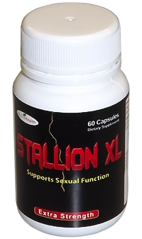 Stallion XL Herbal Supplement for Harder Erections