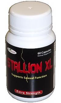 Stallion XL Herbal Supplement for Harder Erections