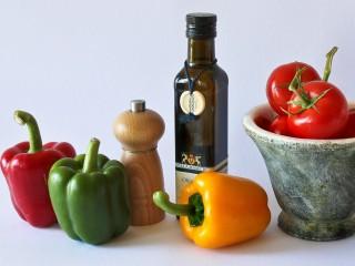 Mediterranean diet, paprika